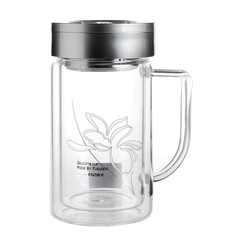 FB1009玻璃办公杯320ml